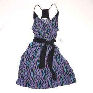 NWT Lush Aztec print racerback dress